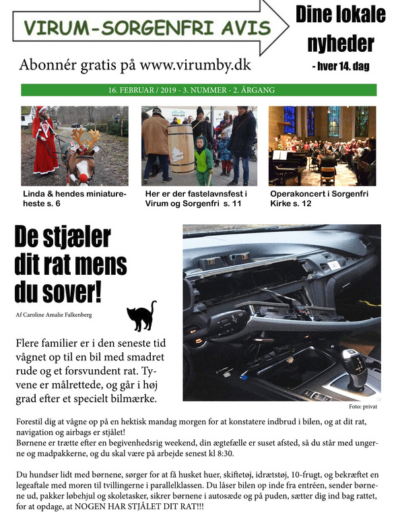 Virum Sorgenfri Avis – nr.  3 – 2019